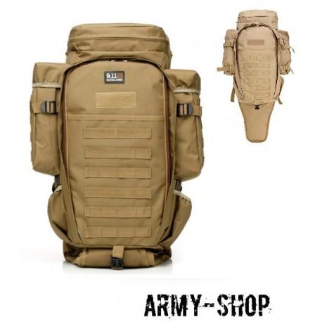 Тактический оружейный рюкзак TACTICAL FULL GEAR RIFLE COMBO (реплика)/койот