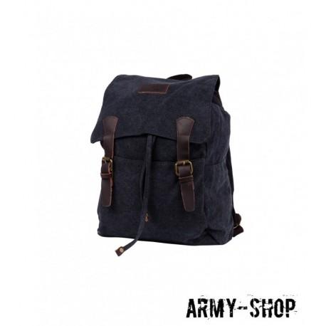 Рюкзак Polar П3302-05 черный брезент