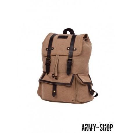 Рюкзак Polar П3303-13 бежевый брезент