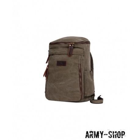 Рюкзак Polar П3392-08 хаки брезент