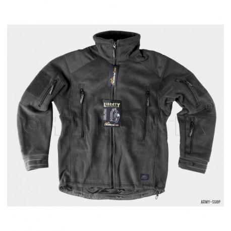 Флисовый жакет BL-LIB-HF-01 LIBERTY Jacket - Double Fleece - Black