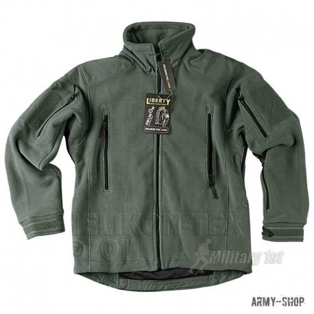 Флисовый жакет BL-LIB-HF-27 LIBERTY Jacket - Double Fleece - Jungle Green