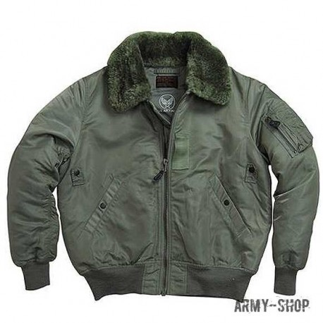 Куртка B-15 Alpha Industries olive