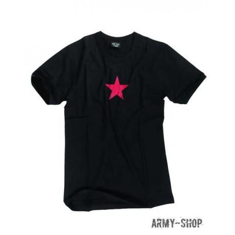 Футболка M.DRUCK 'RED STAR' SCHWARZ