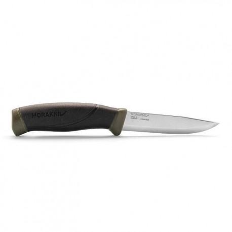 Нож Morakniv Companion/черный с зеленым