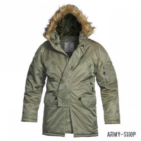 Куртка-аляска Mil-Tec N3B olive