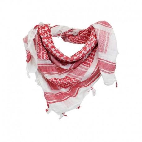 Шарф(Арафатка, Шемаг)110x110 бело-красная